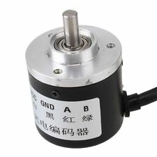 600P/R Incremental Rotary Encoder DC5-24V Wide Voltage Power Supply 6mm Shaft