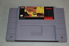 Samurai Shodown  (Super Nintendo, 1994) TESTED SNES Super NES Showdown