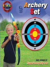 Kings Sport Toy Archery Bow And Arrow Set for Kids With Arrows Target#PS881F
