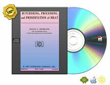 Butchering, Processing, And Preservation Of Meat by Ashbrook, Frank Getz eBookCD