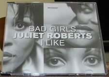 JULIET ROBERTS - BAD GIRLS  (CD SINGLE)