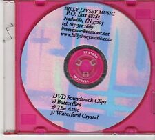 (EX387) Billy Livesy Music, DVD Soundtrack Clips - DJ DVD