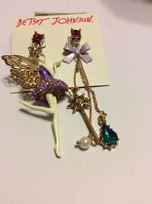 Betsey Johnson Jewelry Princess Charming Shaky Fairy $45 AB189