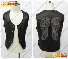Daryl Dixon from The Walking Dead Cosplay Black Vest MM01