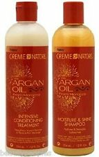 Cream of NatureArgan Oil Intensive Conditioning Treatment & Sulfate Free Shampoo