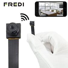 FREDI® HD Mini Super Small Portable Hidden Spy Camera P2P Wireless WiFi Digit...