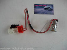 Volkswagen Transporter T5 - COMPLETE LIGHTER SOCKET - WITH ORANGE RING + WIRING