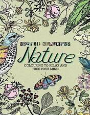INSPIRED COLOURING NATURE COLOURING BOOK NEW ADULT COLOURING GIFT PRESENT