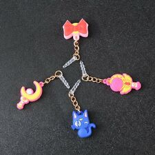 3.5 mm Phone Dust Plug Anti Earphone Jack Plug 4 In 1 Sailor Moon