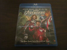 Marvel's The Avengers Blu-Ray + DVD Combo Starring Robert Downey Jr. As Iron Man
