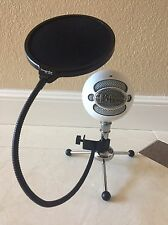 Blue Snowball iCE Condenser Cable Professional Microphone With Pop Filter