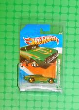 2011 Hot Wheels Super Treasure Hunt #60 - '71 Mustang Funny Car - w/Protecto Pak