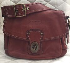 Coach Legacy Vtg.Ali Whiskey Leather Flap Shoulder Bag Purse Ltd Ed.$498