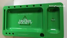 The Higher Society DELUXE ROLLING TRAY w/ paper tip storage & slide out ashtray