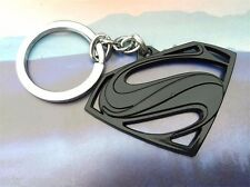 DC Comics SUPERMAN VS BATMAN S Shield Logo Movie Key chain Black color cosplay