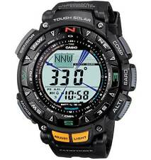 CASIO Pro-Trek Series Watch Black Tough Solar Power PAG240-1