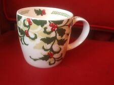 "Hudson & middleton noël ""garland"" tasse de café thé new fine bone china"