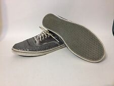 Vans Sequin Silver Sparkle Shoes Mens Sz 9 Womens Sz 10.5, Mardi Gras
