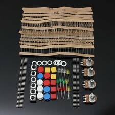 Electrónicas Parts Pack KIT Para Arduino Component Resistors Switch Button HM