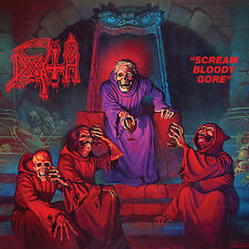 DEATH - Scream Bloody Gore LP - Black Vinyl - METAL CLASSIC - NEW COPY