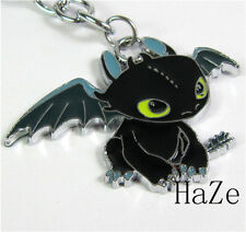 How To Train Your Dragon 2 Toothless Night Fury Metal Necklace Pendant