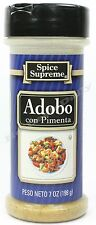 Spice Supreme® ADOBO WITH PIMENTO new & fresh USA MADE spices cooking seasoning