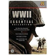 WWII: The Essential Collection  DVD BRAND NEW BOX SET US REGION 1 HISTORY.COM