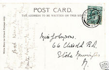 Genealogy Postcard - Family History - Johnson - Stoke Newington - London BH4935