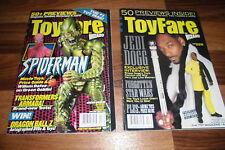 2x ToyFare -- STAR WARS/WWF/BIG JIM/HE-MAN/JABBA HUTT/TRANSFORMERS/Princess LEIA