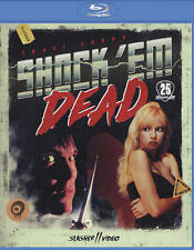 Shock 'Em Dead Blu-Ray NEW Traci Lords HORROR HAPPY HALLOWEEN GLOBAL SHIPPING
