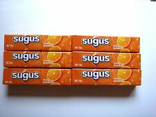 Sugus Orange Flavour Soft Candy chewy sweets 6 pcs candies kids girls