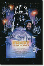 Brand New LICENSED Empire Strikes Back 23x35 poster Star Wars Leia Skywalker