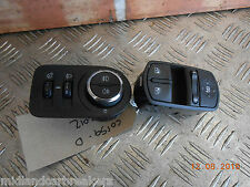 VAUXHALL CORSA D 2012 HEADLIGHT AIM FOG LIGHT WINDOW CONTROL SWITCH 13310335