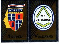 Panini Calciatori 2002/03 n. 720 TORRES VALDARNO SCUDETTO DA BUSTINA!!