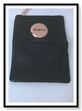 Mimco Leather MIM SMALL FOLD Wallet Clutch Purse BNWT RRP$149 Black S16
