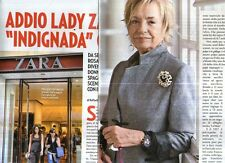 Ga51 Ritaglio Clipping del 2013 Addio Lady Zara Indignada Chic