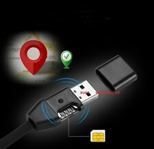 TEXT & VOICE ACTIVATED SPY AUDIO LISTENING RECORDING BUG MOBILE GSM GADGET CABLE