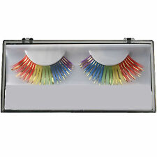 Gay Pride Rainbow Feather Eyelashes