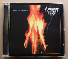 ACCEPT RESTLESS AND WILD CD 10 TRACK 2005 ISSUE OF 1982 ALBUM GERMAN