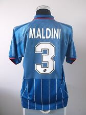 Paolo MALDINI #3 AC Milan Fourth Football Shirt Jersey 1995/96 (L)