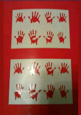 1/10 Scale Accessory ZOMBIE HANDS Stickers rc crawler axial scx10II rc4wd tf2