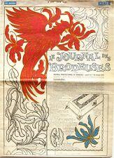 Le Journal des Brodeuses n°867 - 1967 - Ecussons pour Draps - Nappes -