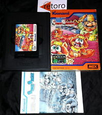 COMIC BAKERY MSX Konami PAL European RC714 Completo Buen Estado 1984 Rare