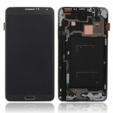 USA Gray Samsung Galaxy Note 3 N9005 LCD Screen Digitizer with + Frame Assembly