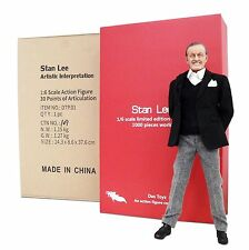 "Das Toyz Marvel Stan Lee Licensed Limited Edition 1/6 Scale 12"" Figure EXECUTIVE"