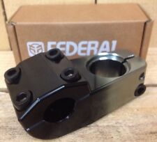 Federal Love Top Load BMX Stem Black/silver 52mm Reach