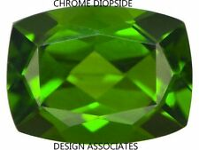 CHROME DIOPSIDE 6X4 MM EMERALD CUSHION CUT RADIANT RUSSIAN GREEN