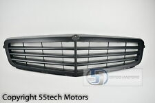08~12 Mercedes Benz W204 C300 C350 C230 Grille Grill Stock Style Matte Black NEW