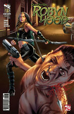 GRIMM FAIRY TALES Robyn Hood #5 Cover B Triano Cover Ship Worldwide Bag & Board