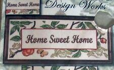 "1 Pretty ""Home Sweet Home"" Counted Cross Stitch Kit"